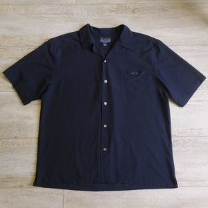 Oakley // Men's Black Button Up